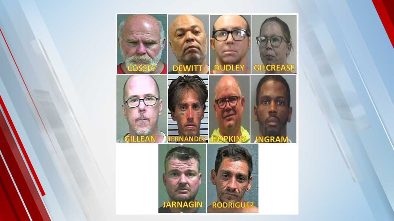 Oklahoma City Police Release Their 'Top 10' Wanted Sex Offenders