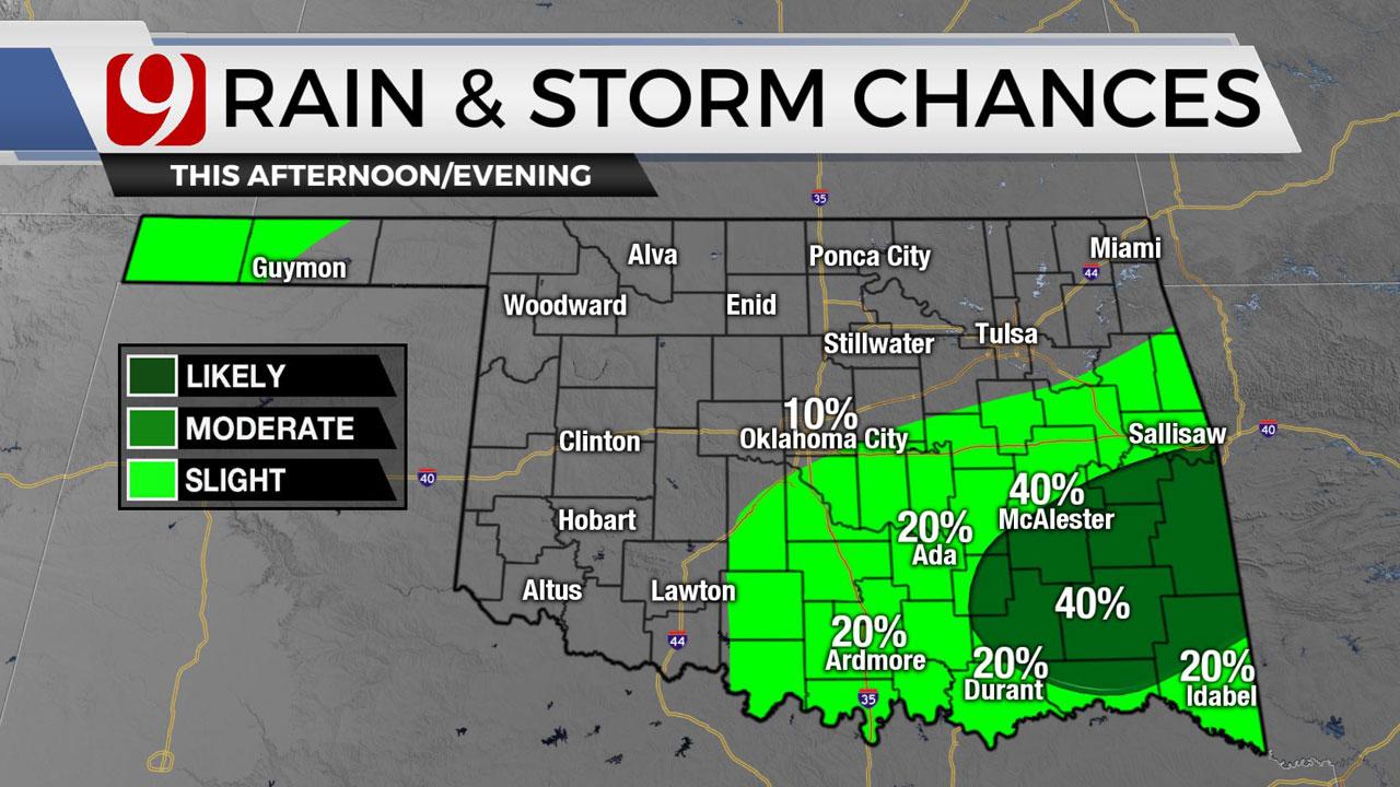 Rain & Storm Chances