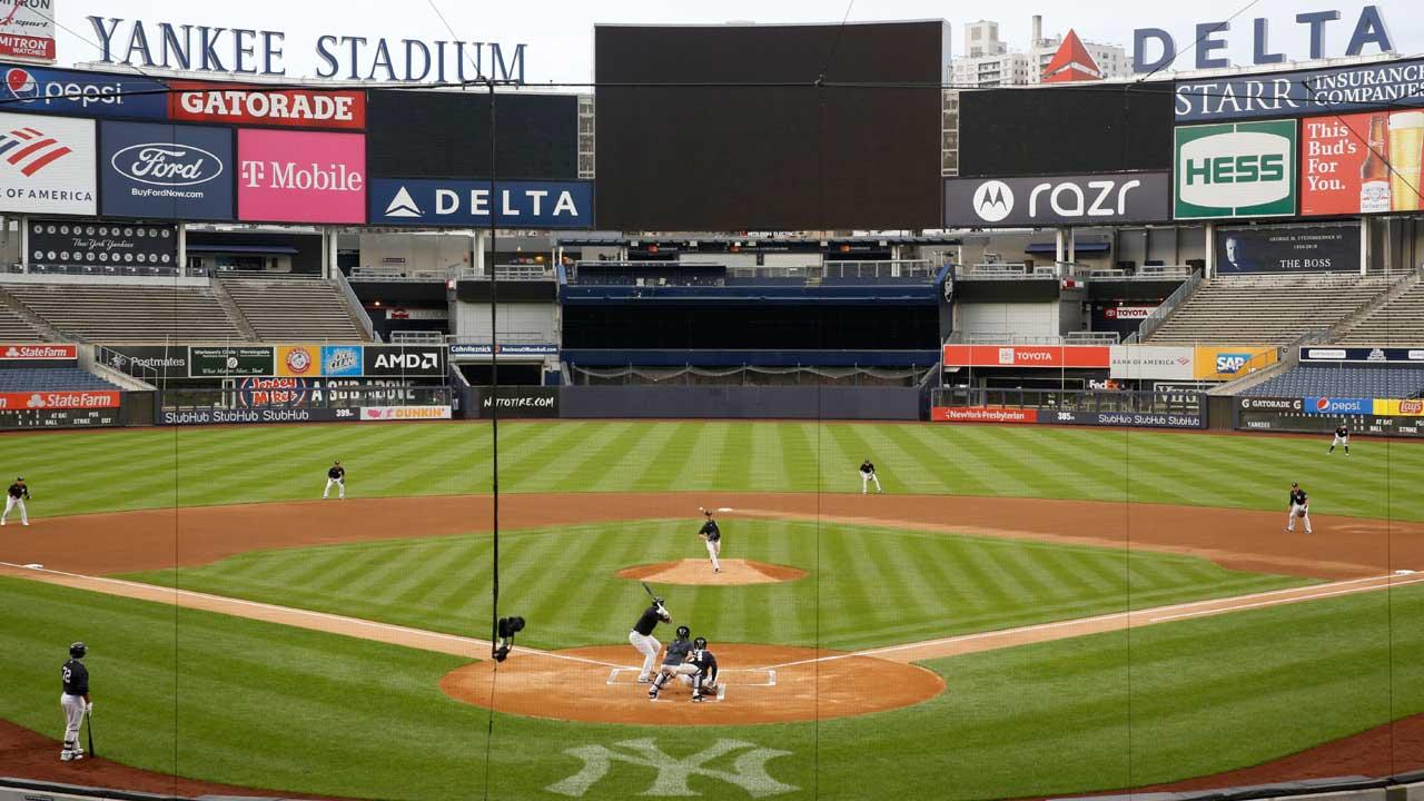 Yankee stadium on July 6, 2020