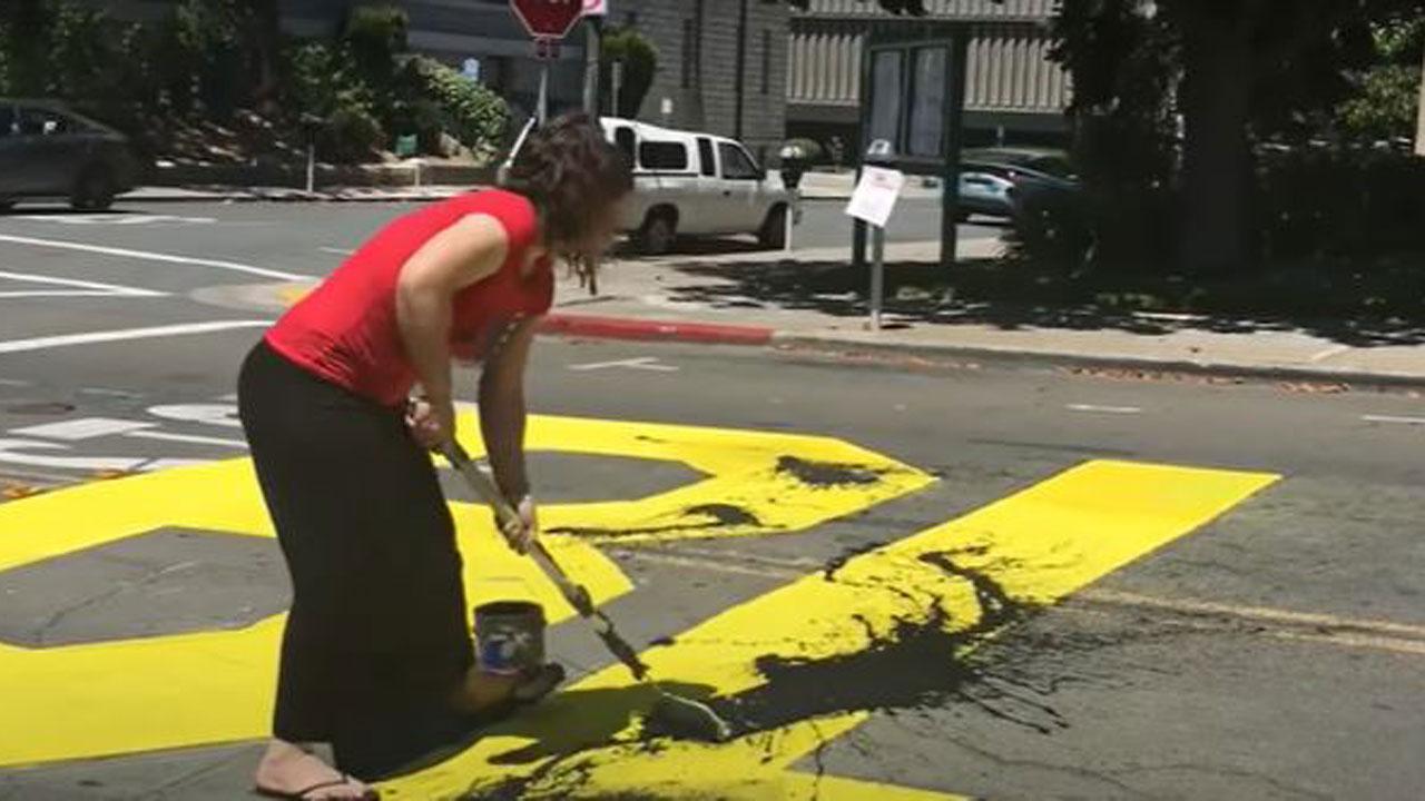 2 Face Hate Crime Charge After Allegedly Vandalizing Black Lives Matter Mural In California