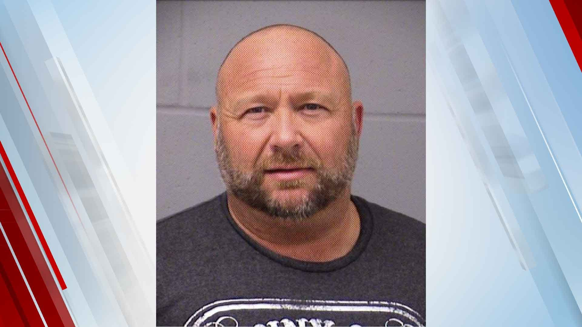 Conspiracy Theorist Alex Jones Arrested For DWI In Texas