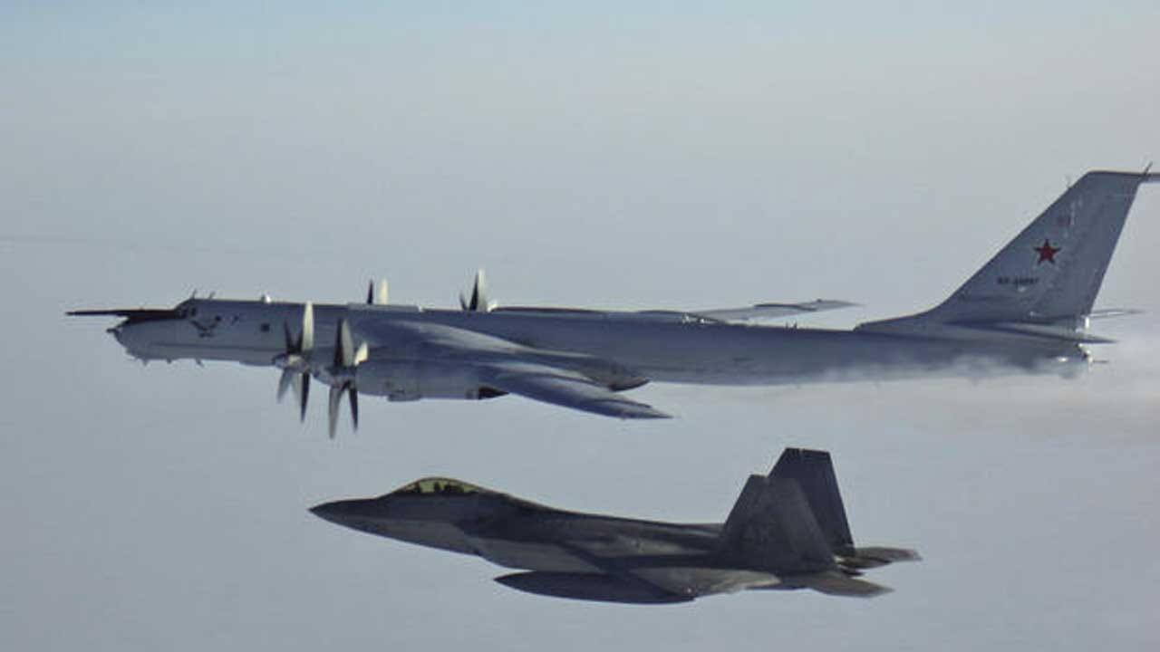 U.S. And Canadian Jets Intercept 2 Russian Planes Near Alaska