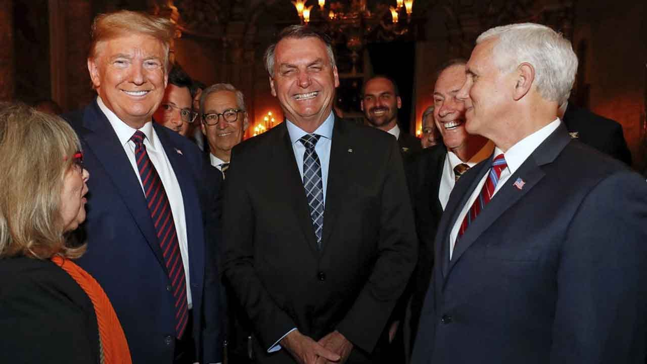President Trump, Pence Won't Be Tested After Meeting With Infected Brazilian Official