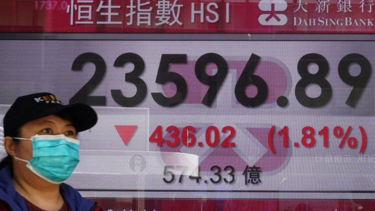 Financial Markets In Turmoil Over Fear Of Virus Lockdowns