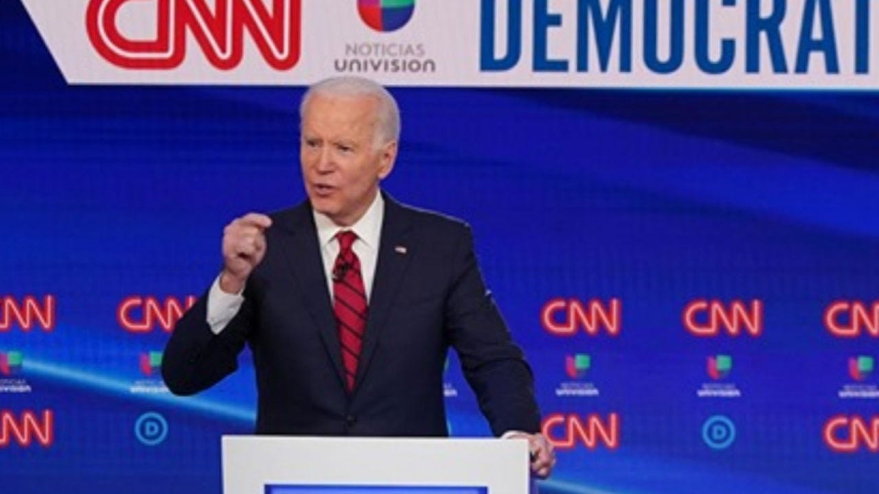 Joe Biden Commits To Picking A Woman Running Mate