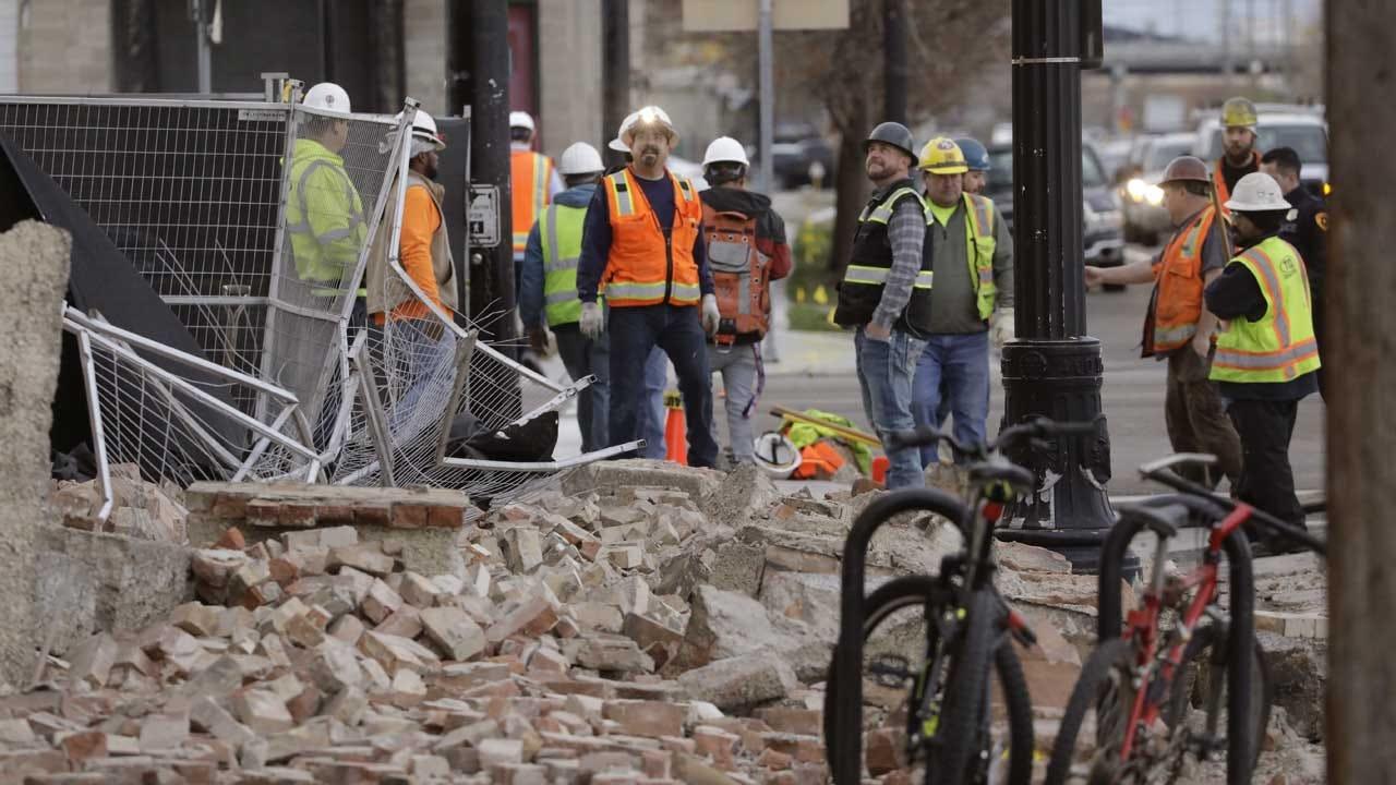 5.7-Magnitude Quake Shakes Utah, Salt Lake Airport Closed