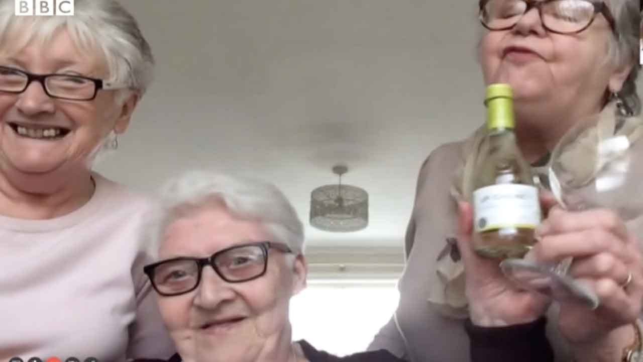 3 Elderly Women Say They're Becoming Roommates So They Have Company During Self-Quarantine