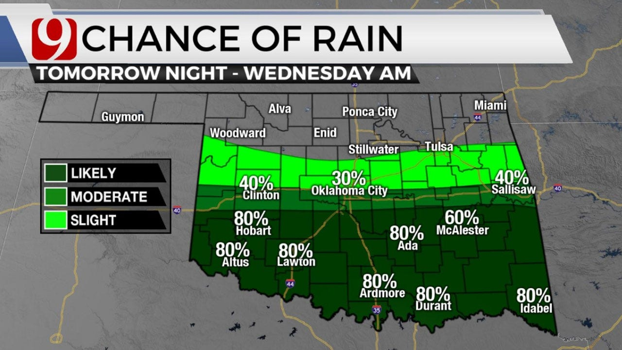 March Kicks Off With Seasonable Temperatures; Rain Chances Possible Mid-Week