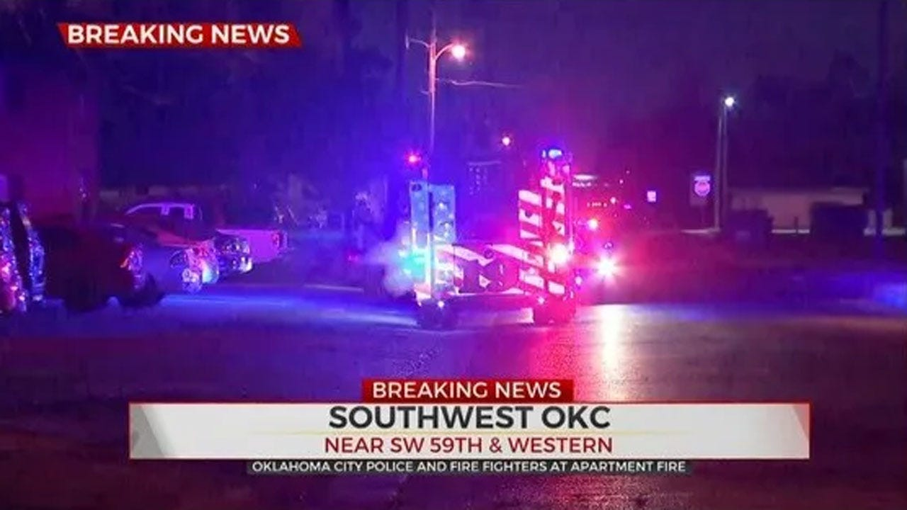Police: Women Involved In Domestic Dispute Set Fire At SW OKC Apartment