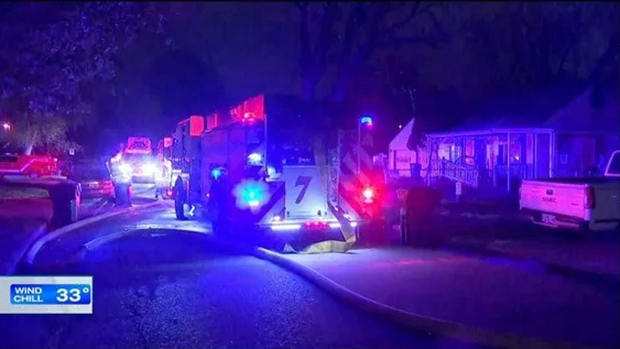 Firefighters Knock Down SW OKC House Fire