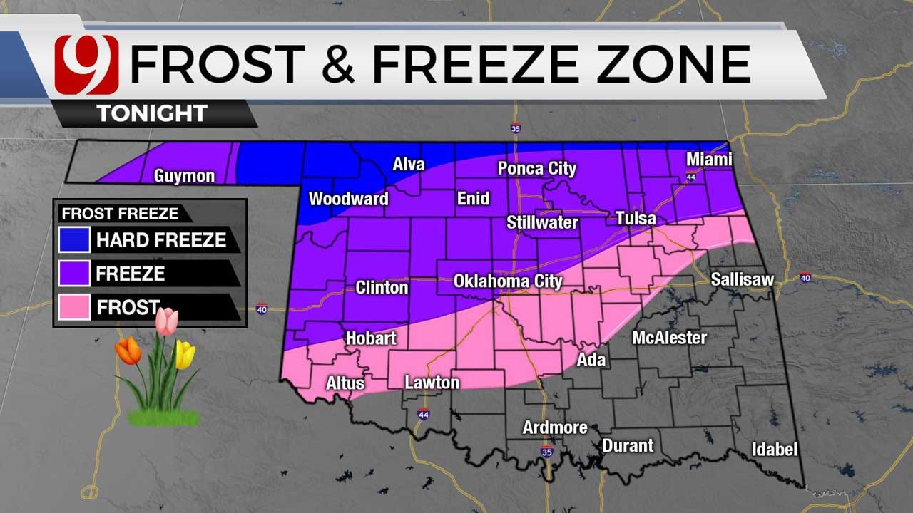 Oklahoma To See Chilly Temps Friday, Saturday
