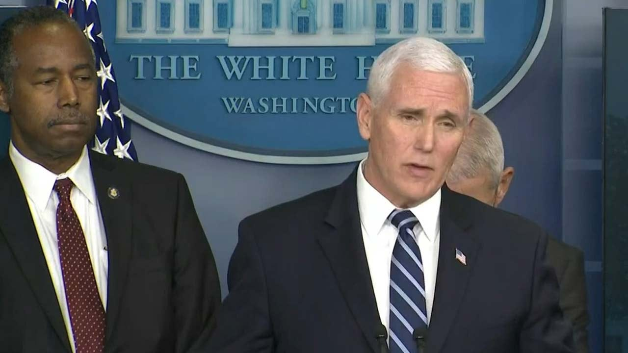 Vice President Pence Says Italy Is Probably Best Comparison To US Now