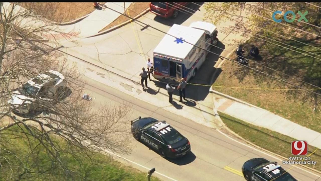 2 Adults, Child Shot In NW OKC, Police Say