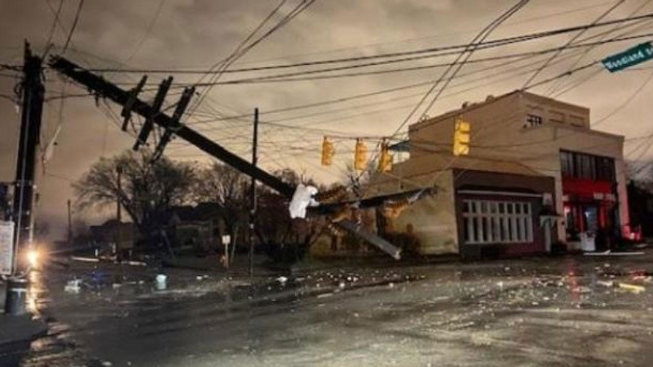 Nashville Area Tornadoes Kill At Least 5, 1 Hit CBS Affiliate Directly