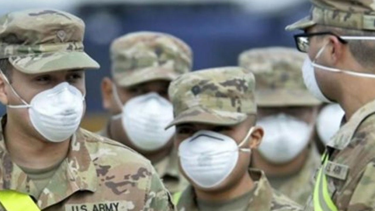Army Staffing Field Hospitals To Fight Coronavirus While Trying To Stay Ready For War
