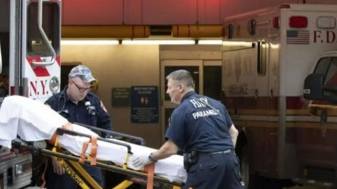 NYC Paramedics Overwhelmed By Coronavirus Cases: 'We've Had 9/11-Type Calls For Eight Days'