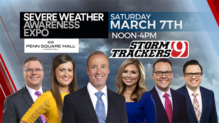 Join The News 9 Weather Team At The Severe Weather Awareness Expo
