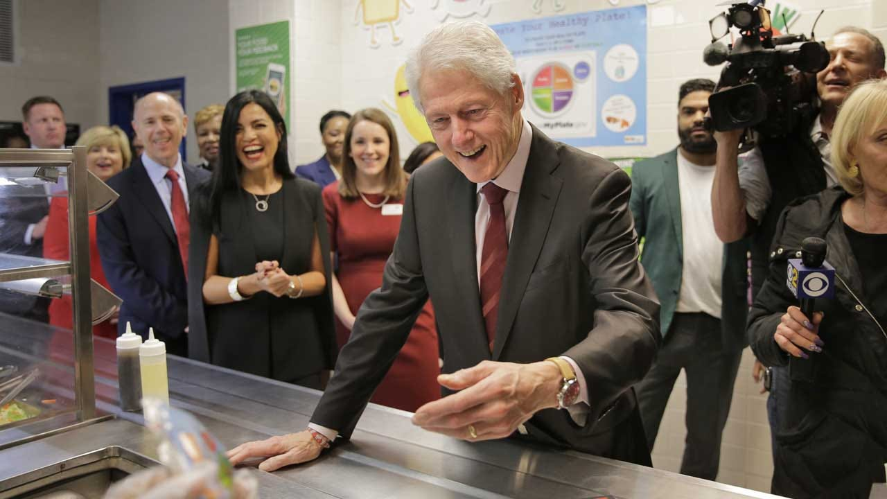 Bill Clinton Says Affair With Monica Lewinsky Helped 'Manage My Anxieties'