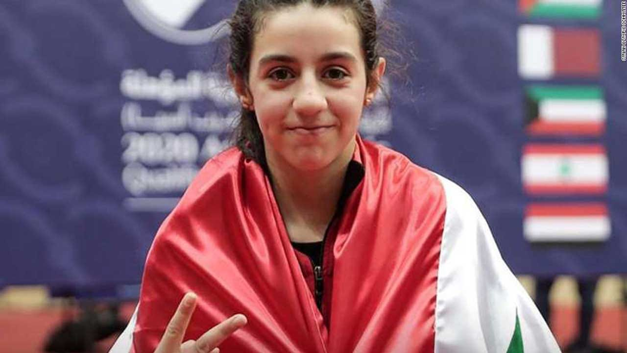 Syrian Table Tennis Star Hend Zaza Qualifies For 2020 Olympics At Just 11 Years Old