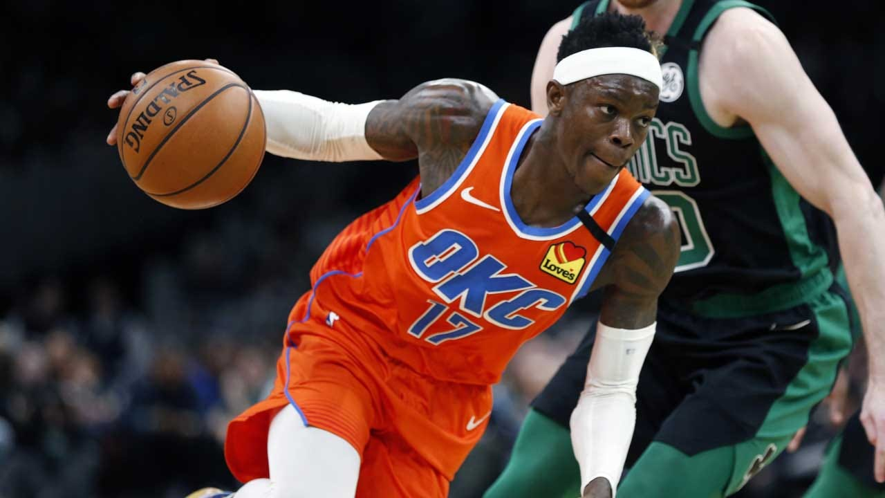 Schroeder's Late Layup Lifts Thunder Over Celtics 105-104