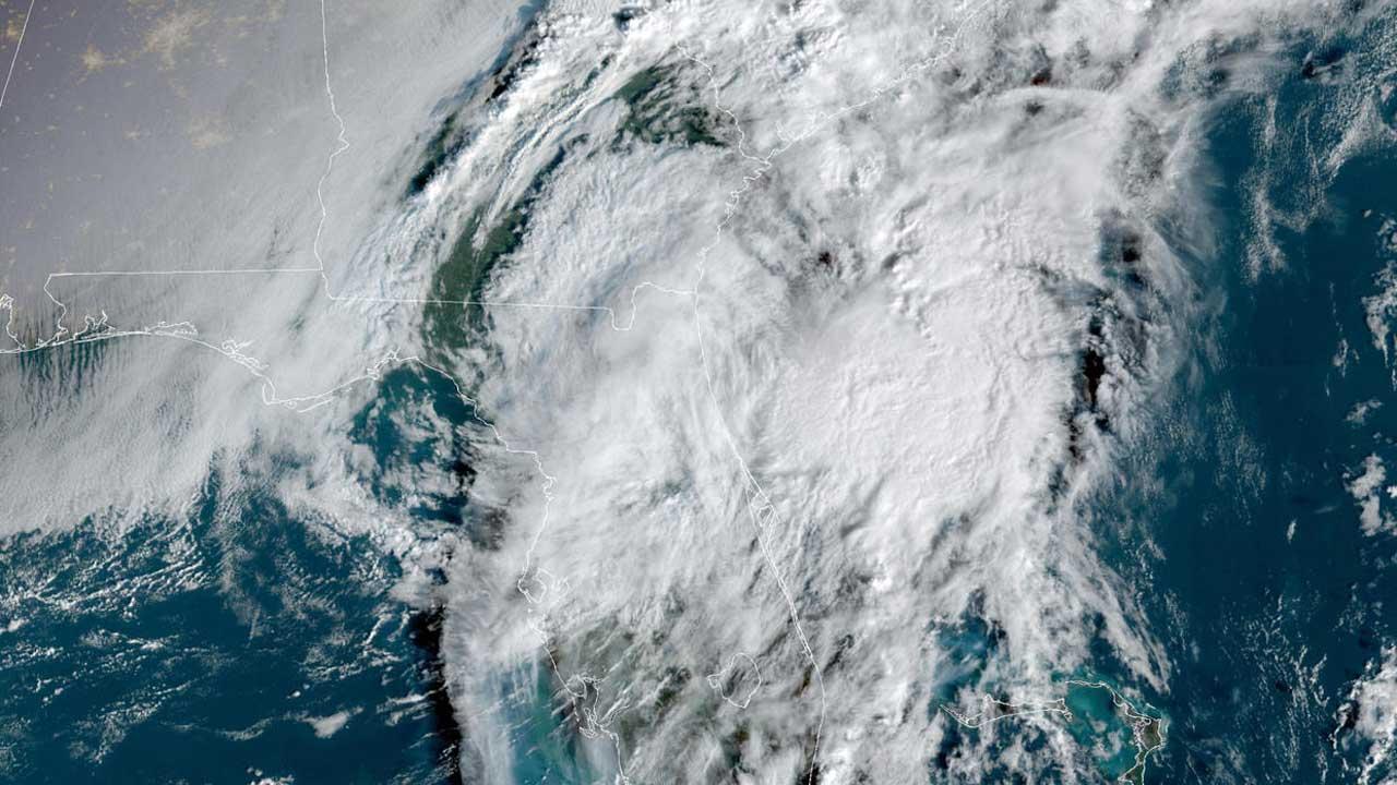 Tropical Storm Eta Dumps Torrents Of Rain On Florida; Man Electrocuted