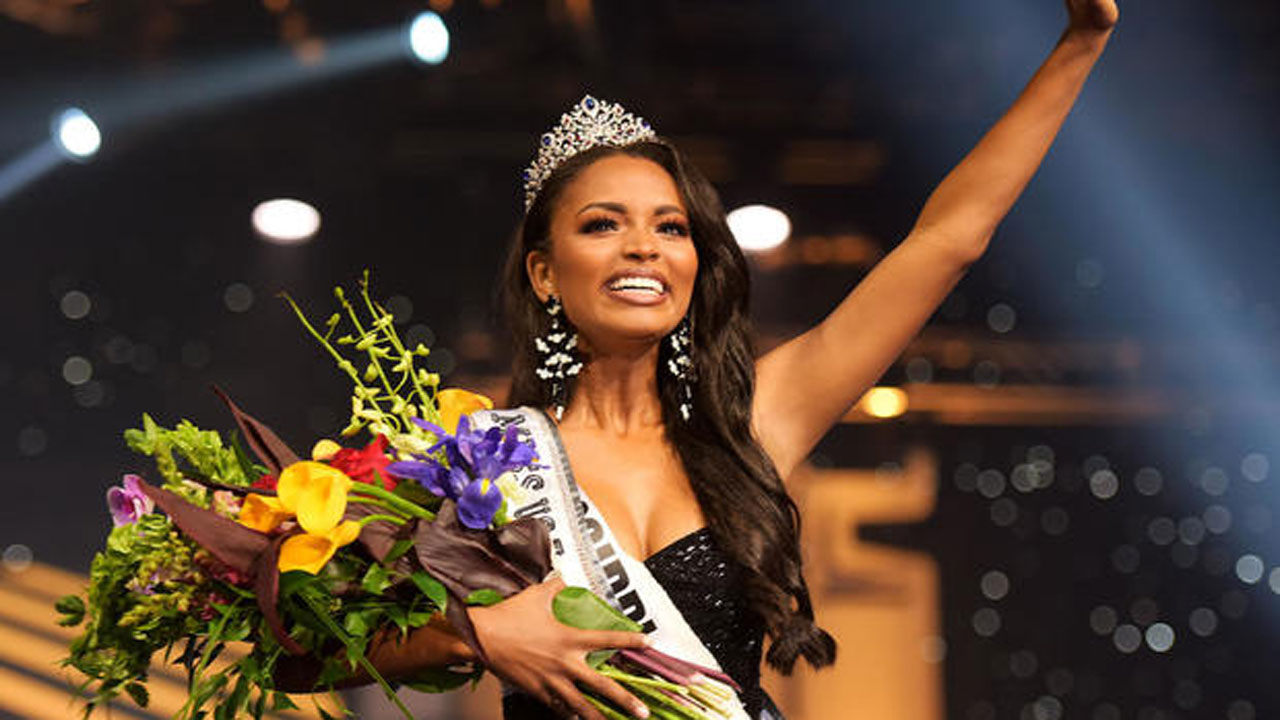 Miss USA Asya Branch Wants To Use Her Crown To Fight For Prison Reform
