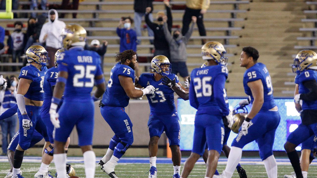 Tulsa Football AP Top 25 Nov. 15, 2020