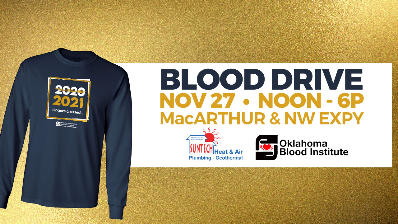 Suntech Community Response Blood Drive Set For Nov. 27