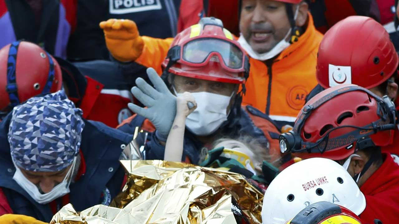 Child found alive in rubble after Turkey earthquake