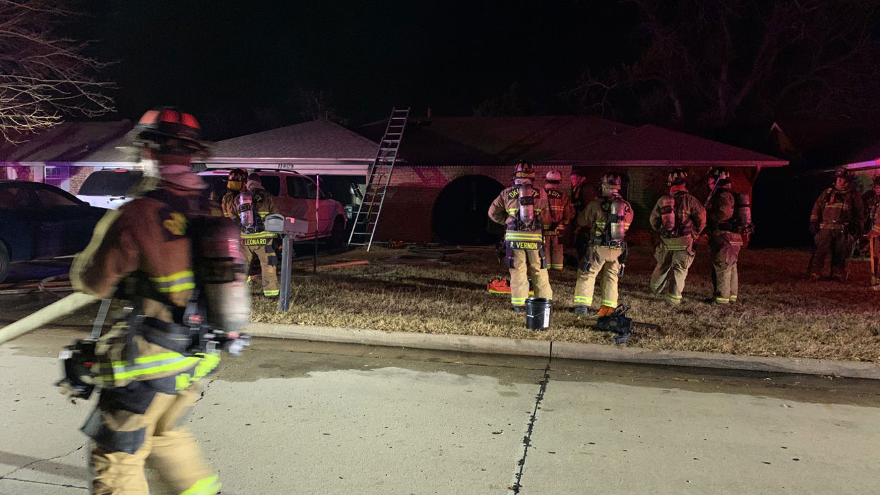 2 Escape From Overnight House Fire In NW OKC
