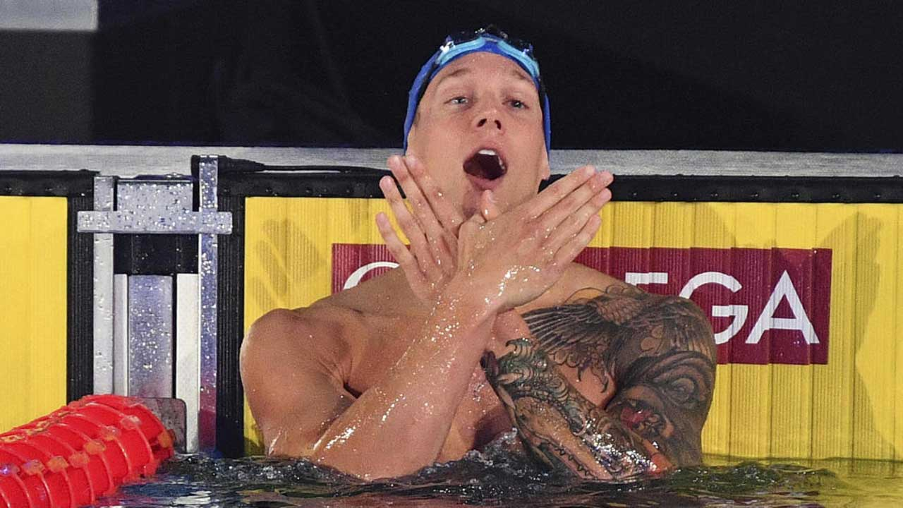 US Swimmer Caeleb Dressel Breaks 2 World Records In 40 Minutes