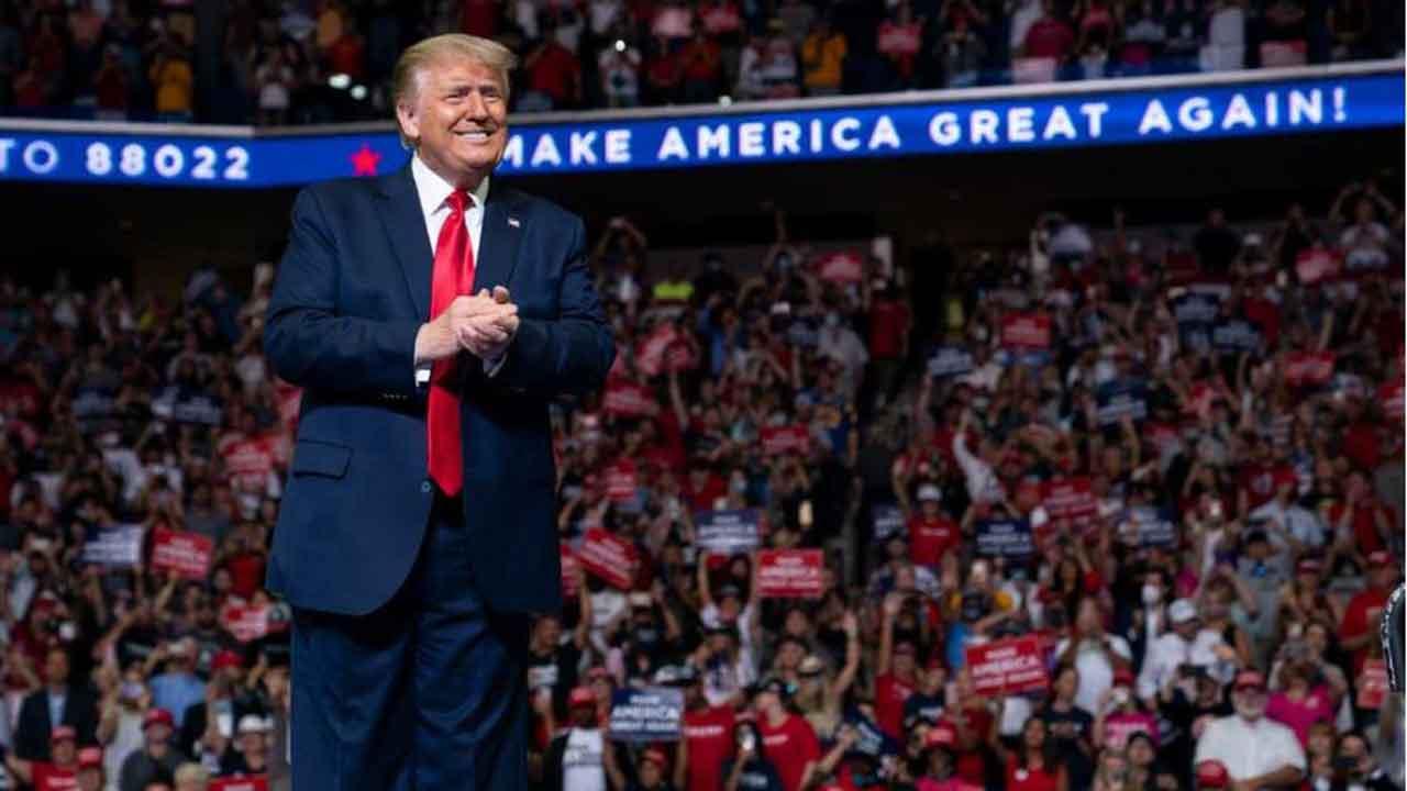 Trump Rally Generic -- 2020