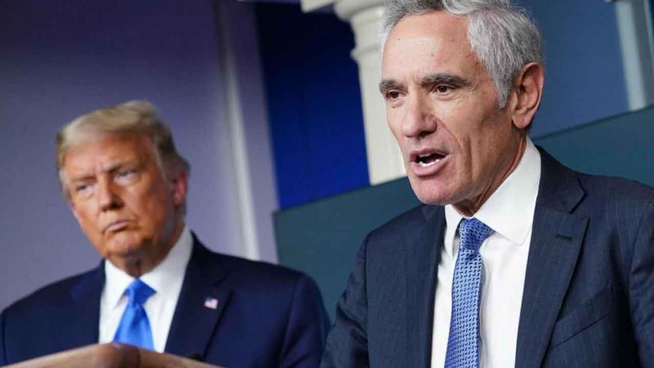 Scott Atlas Resigns As Trump Administration's Special Adviser On Coronavirus