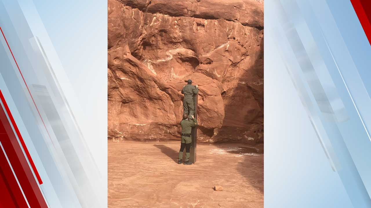 Metal Monolith Discovered In Utah Desert Mysteriously Disappears