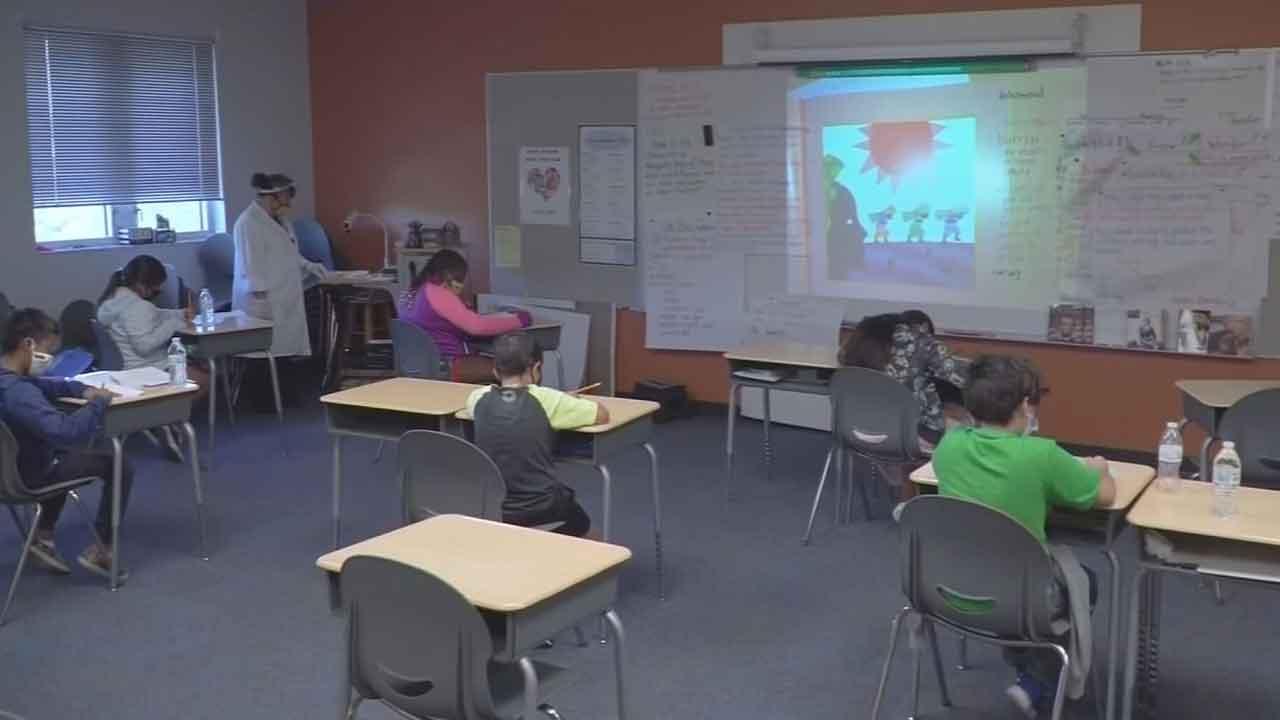 Mustang, Little Axe & Deer Creek Middle School Change Learning Plans