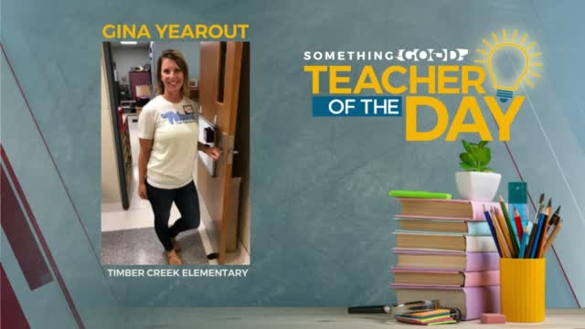 Teacher Of The Day: Gina Yearout