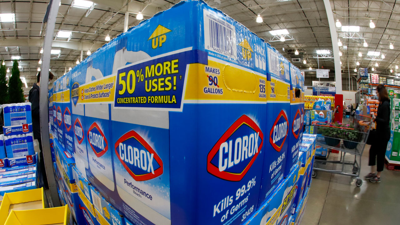 Clorox Wipes Won't Return To Store Shelves Until Mid-2021
