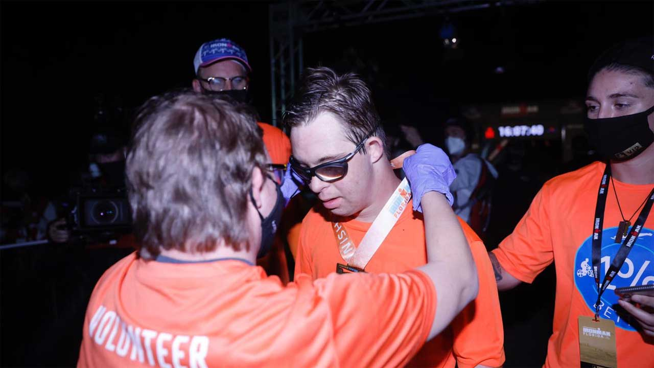 Florida Man Becomes 1st Person With Down Syndrome To Finish Ironman Triathlon