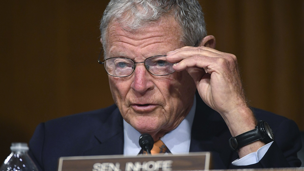 Sen. Inhofe To Announce He Will Not Challenge Electoral College Results