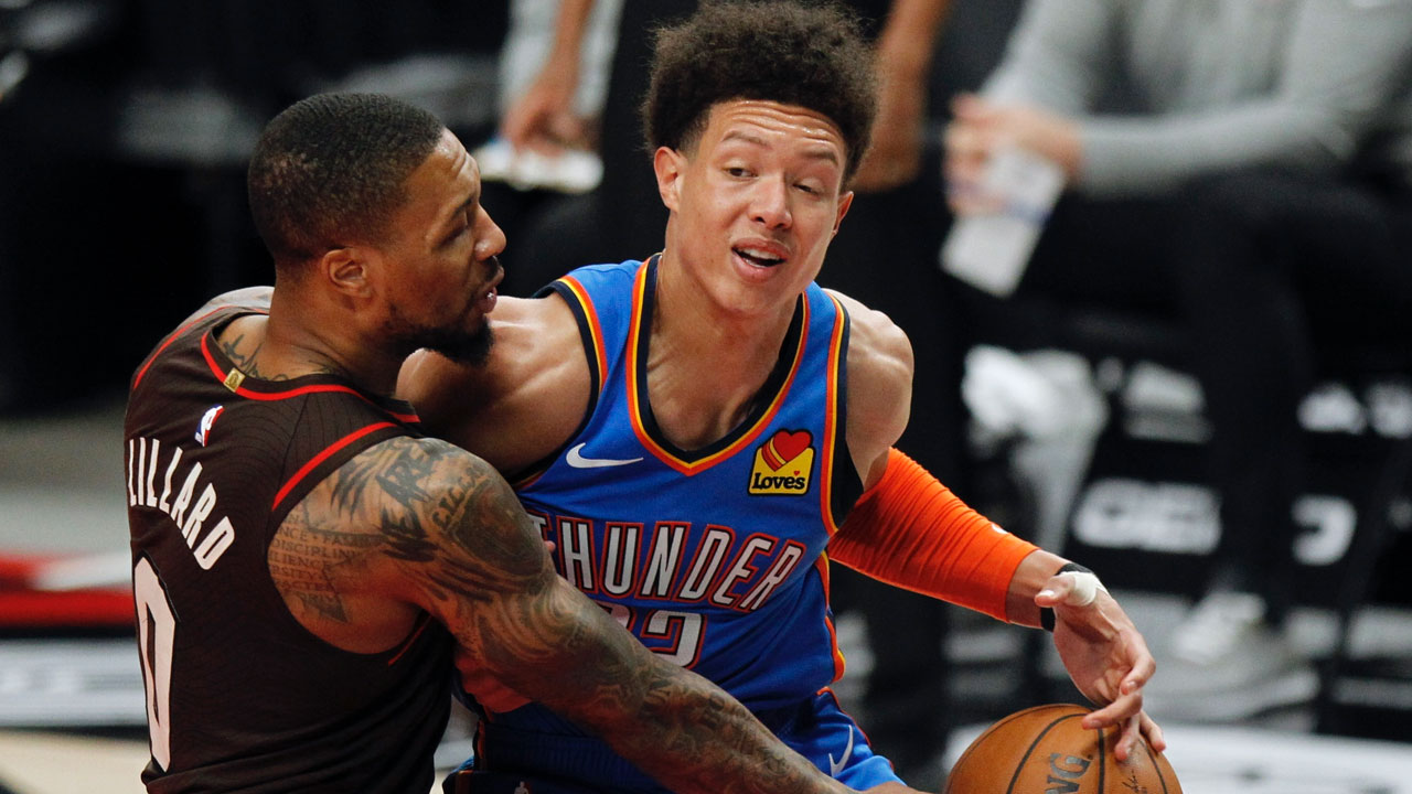 McCollum Scores 20 And Blazers Rout The Thunder 133-85