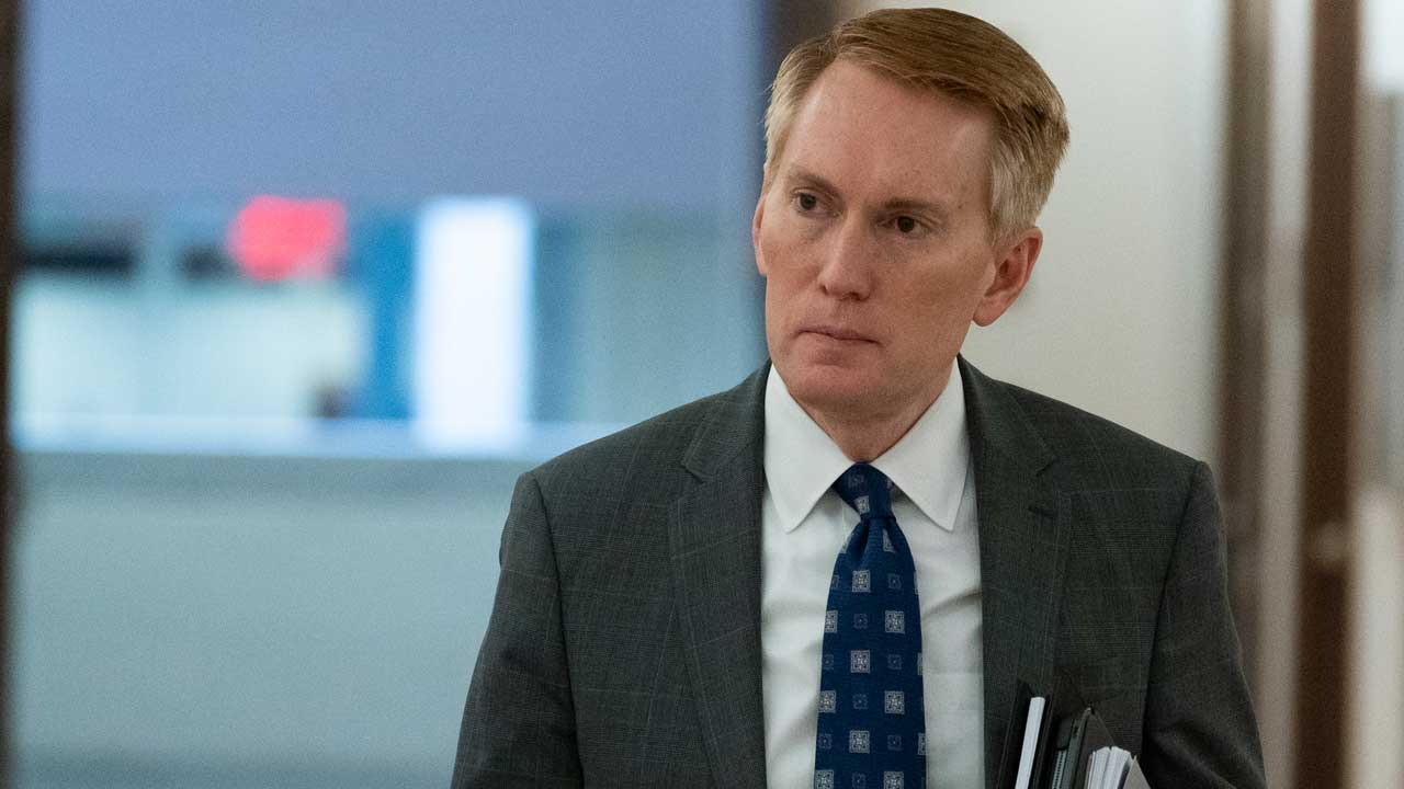 'I'm Very Concerned': Sen. Lankford Talks About $1.2 Trillion Bipartisan Infrastructure Bill
