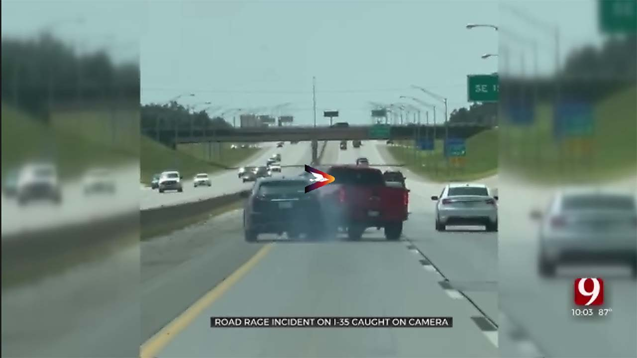 Update: Road Rage Incident Along I-35 Caught On Camera