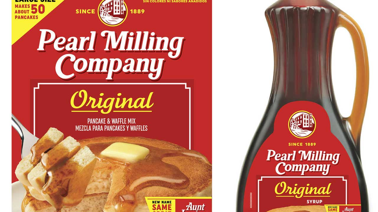 Aunt Jemima Brand's New Name Revealed: Pearl Milling Company