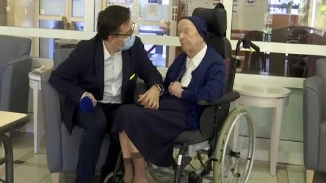 French Nun, World's 2nd-Oldest Person, Fends Off COVID Ahead Of Her 117th Birthday