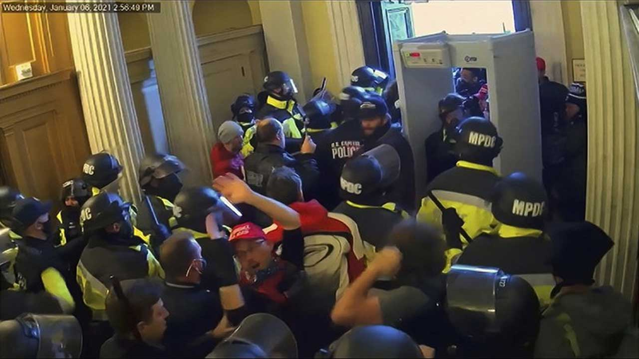 Capitol riot security footage