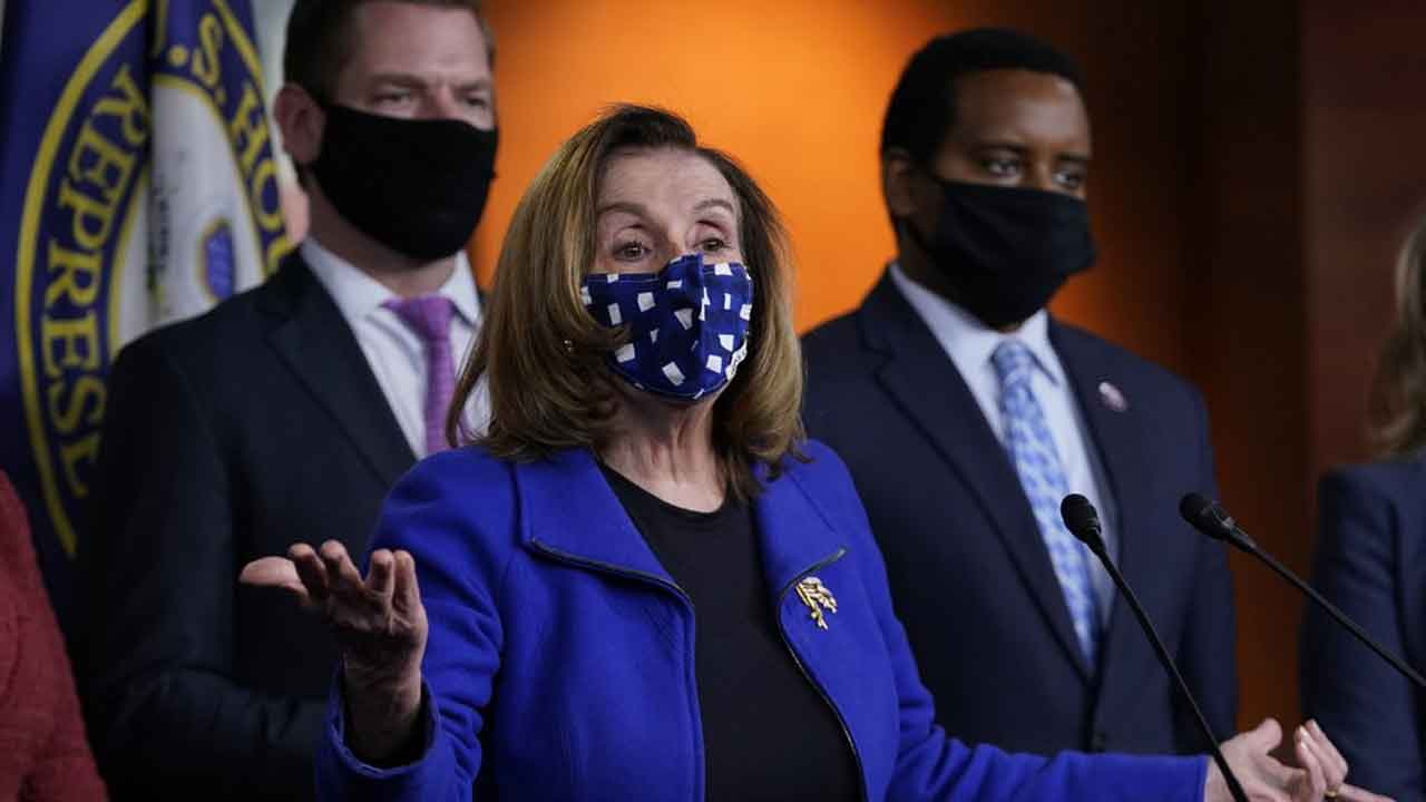 Pelosi Says Independent Commission Will Examine Capitol Riot