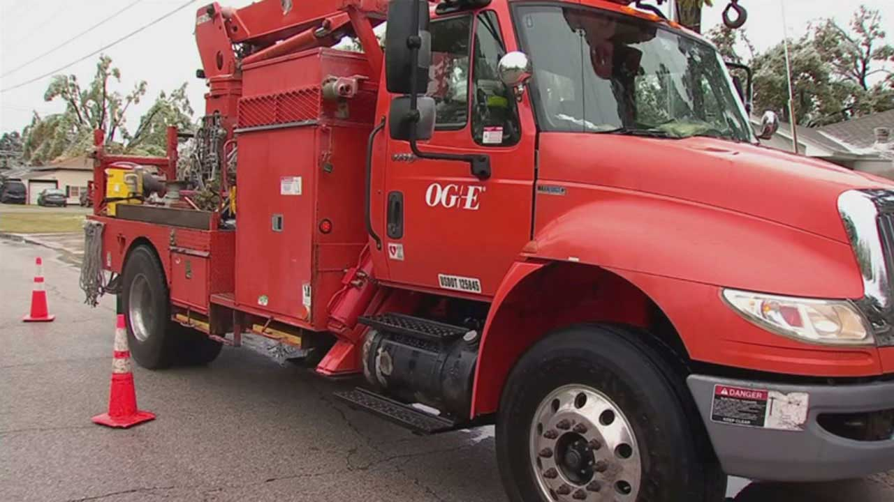 OG&E Says All Power Outages Have Been Restored To Customers Statewide