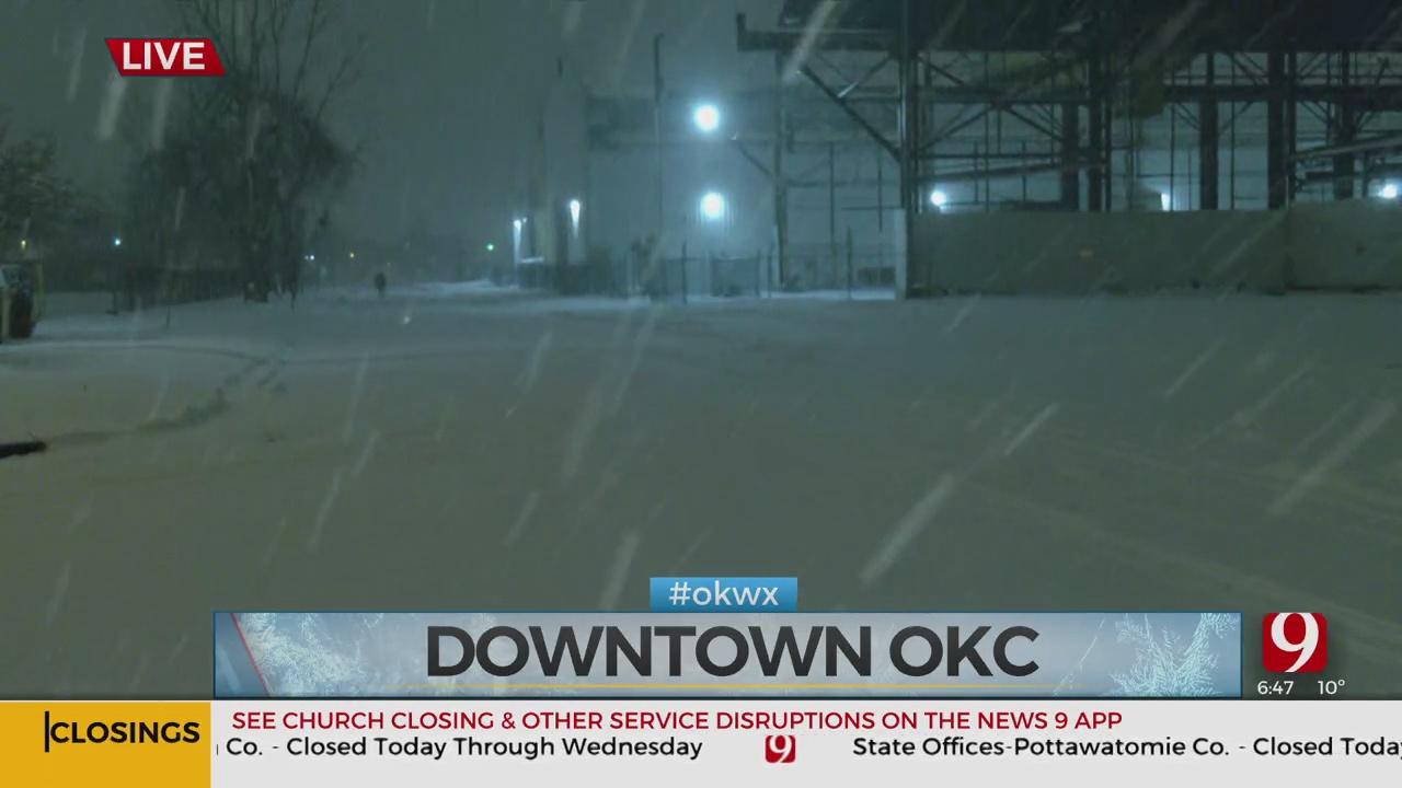 UPDATES: Winter Storm 2 Moves Through Oklahoma