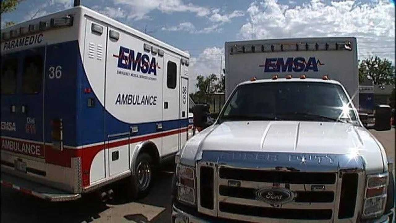 EMSA Reported Influx Of 911 Calls In OKC Area Amid Rolling Blackouts