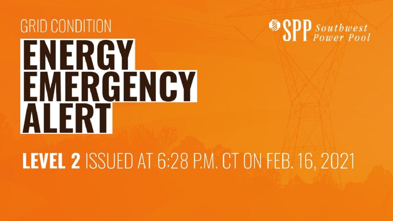 SPP Emergency Level 2